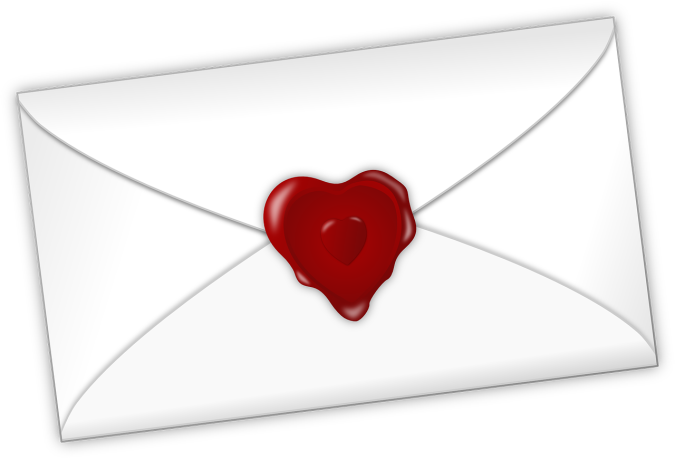 Image result for love letter with a heart